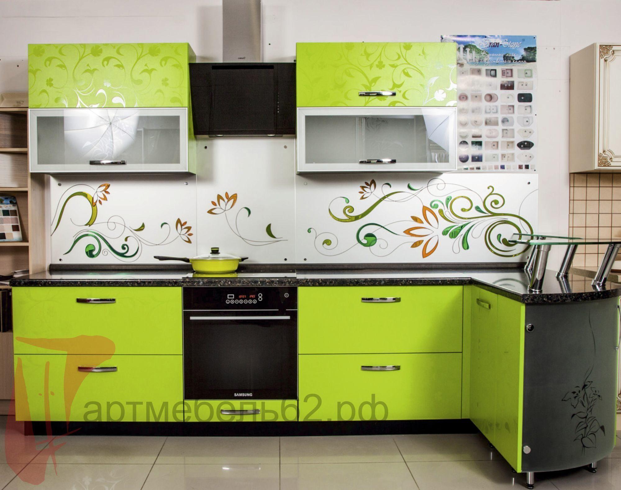 Сочетание цветов кухонного гарнитура фото белого и