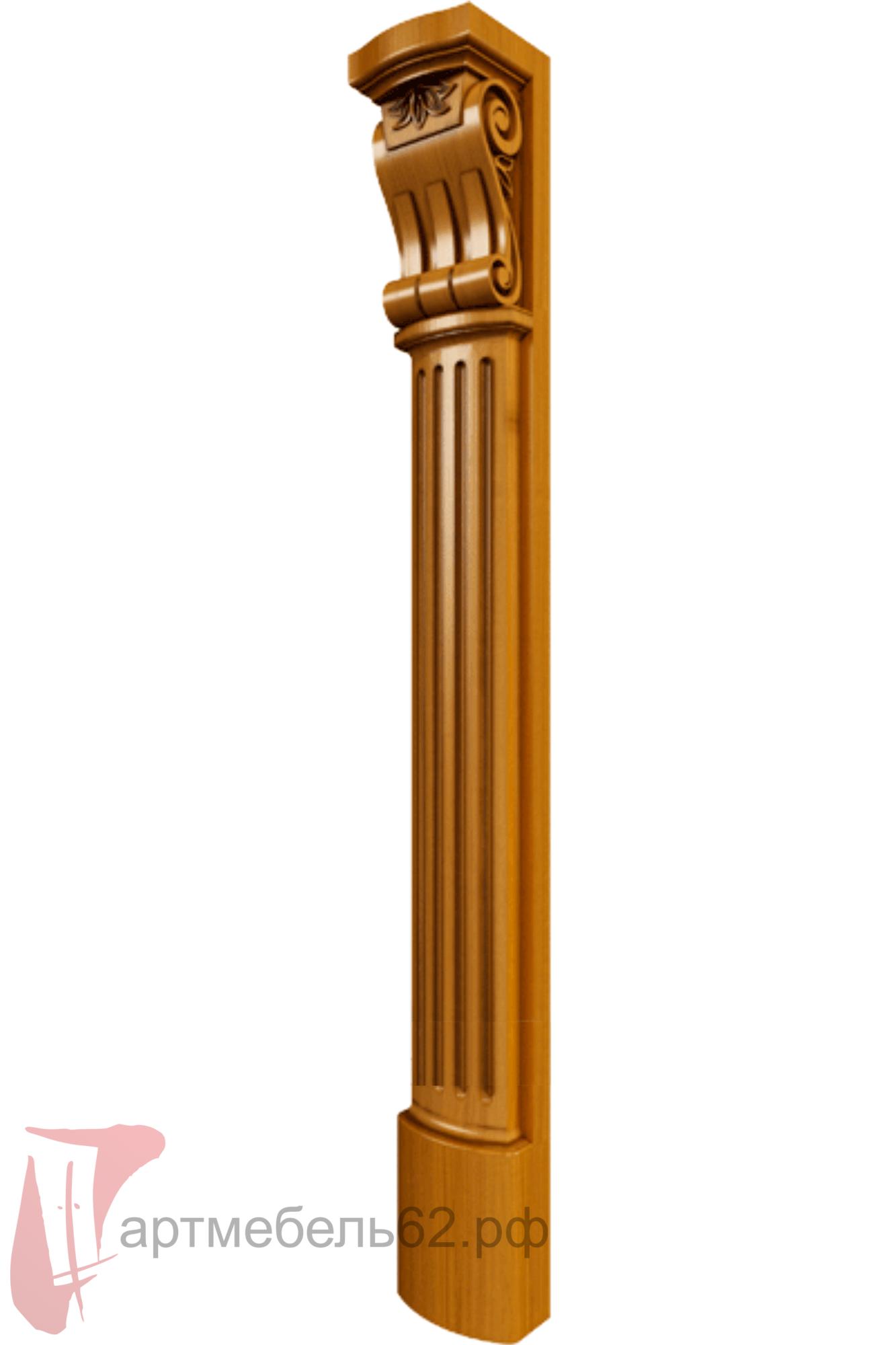Декоративные колонны из дерева