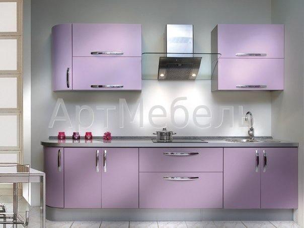 матовый фасад кухни фото